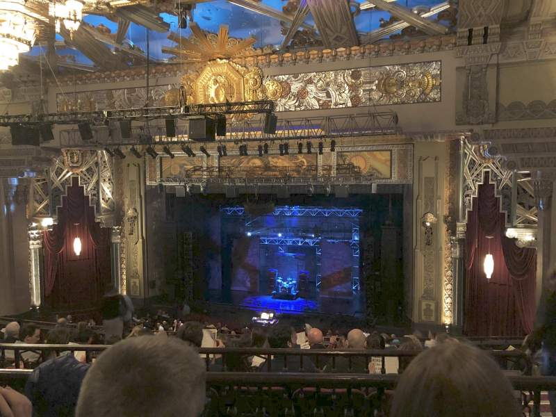 Seating view for Hollywood Pantages Theatre Section Mezzanine RC Row K Seat 212