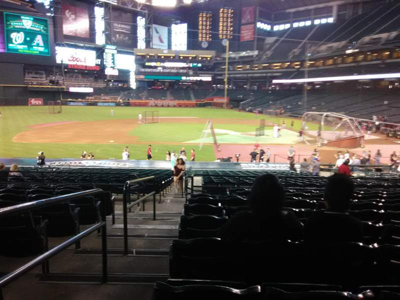 Chase Field, section: 127, row: 30, seat: 19