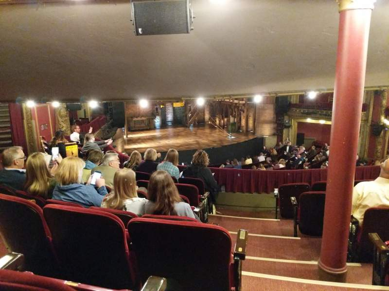 CIBC Theatre, section: Dress Circle L, row: G, seat: 1and3