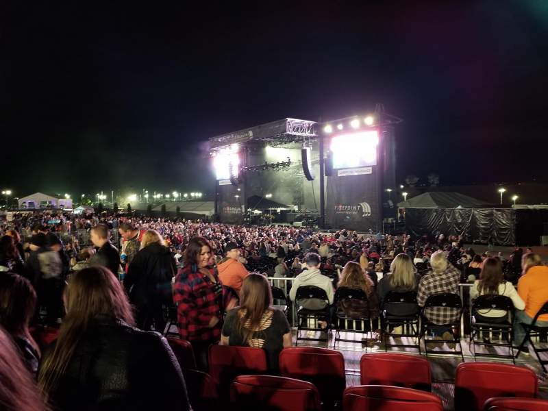 FivePoint Amphitheater, section: Ter301, row: 5, seat: 42