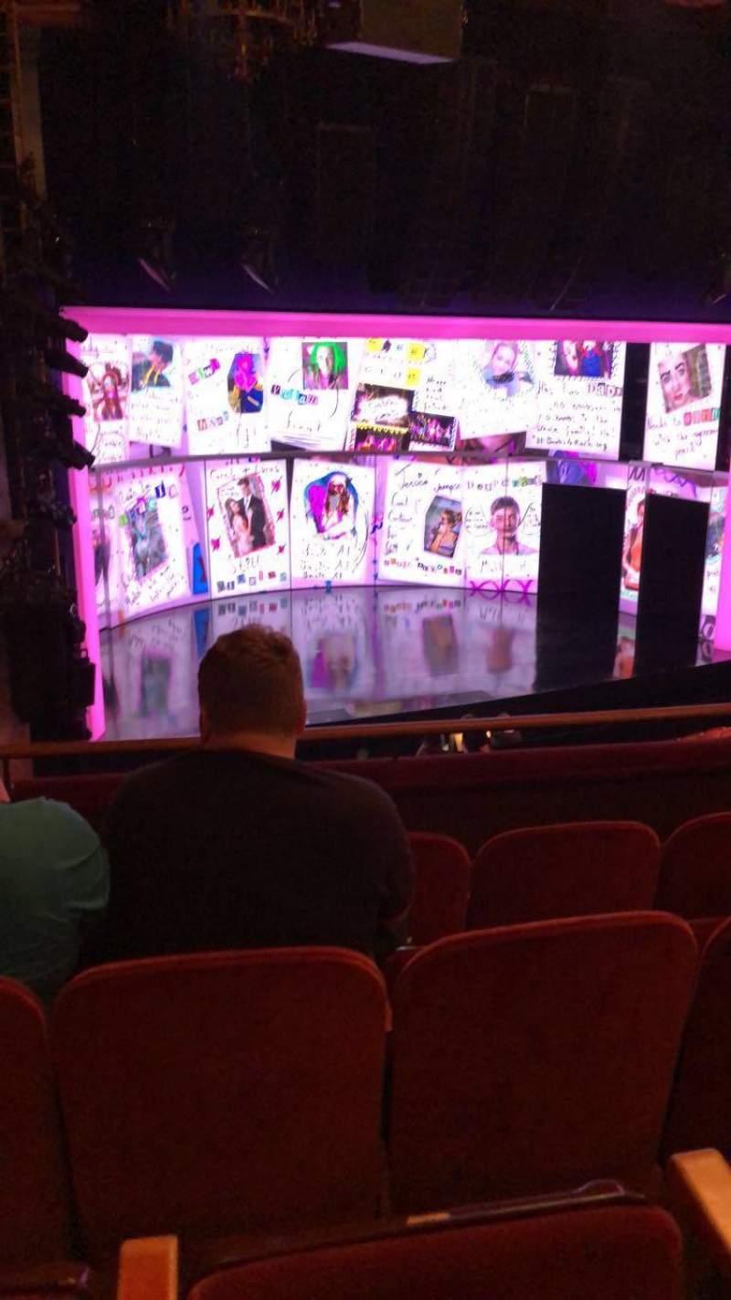 August Wilson Theatre, section: Mezzanine, row: D, seat: 17