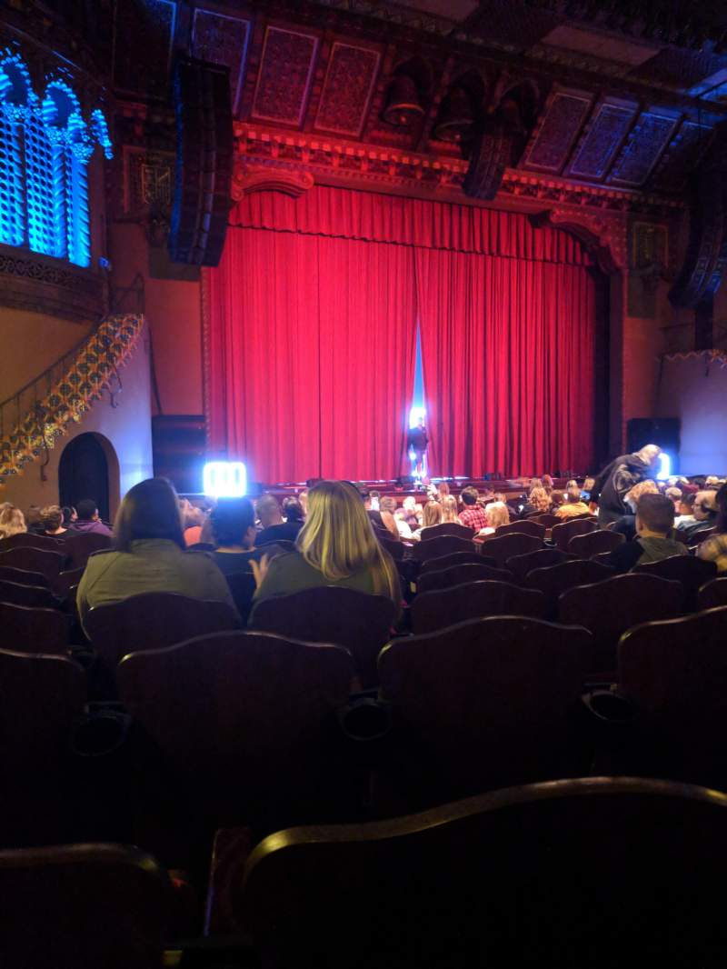 Seating view for Fox Performing Arts Center Section Orchestra Row AC Seat 21