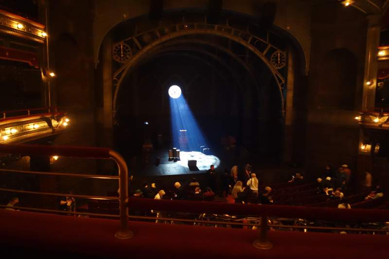 Lyric theatre, section Dress Circle C