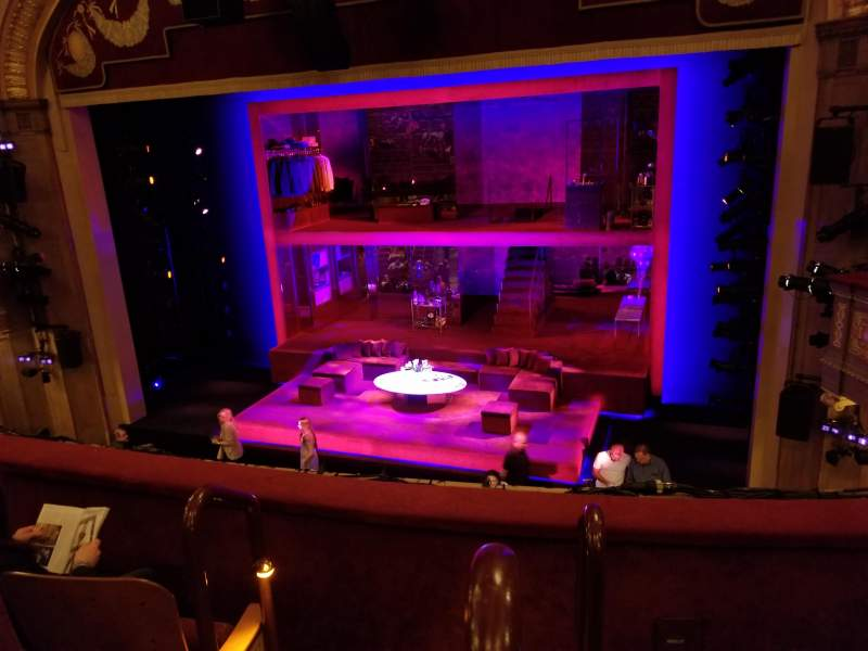 Seating view for Booth Theatre Section Mezzanine R Row C Seat 2