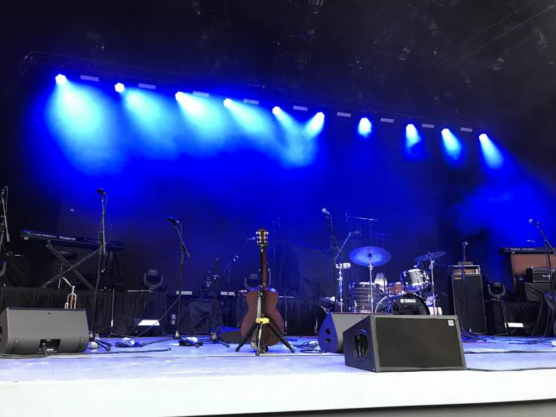 Seating view for The Greek Theatre Section Pit Row BB Seat 113