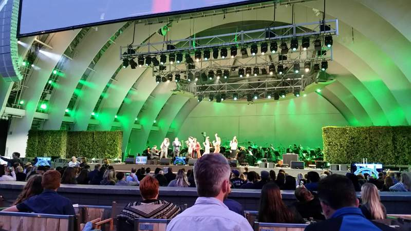 Seating view for Hollywood Bowl Section Garden Box 230 Seat 1