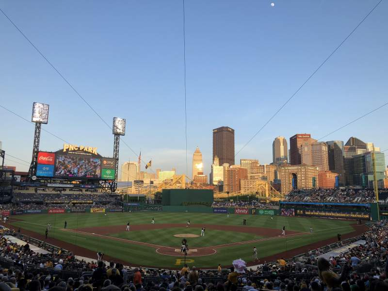 Seating view for PNC Park Section 116 Row BB Seat 6
