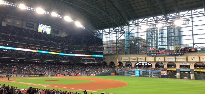 Minute Maid Park, section: 128, row: 28, seat: 8