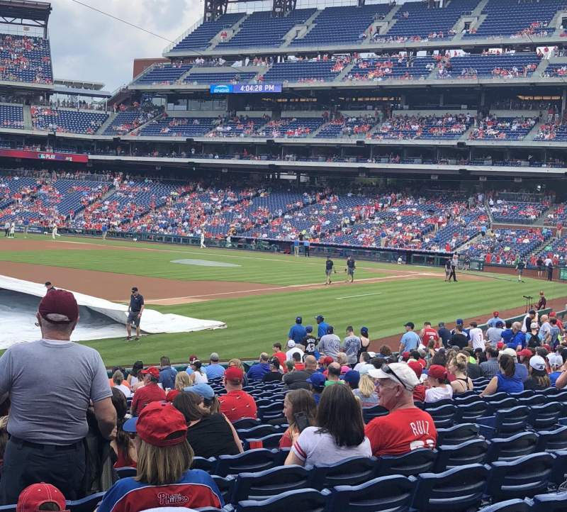 Citizens Bank Park, section: 136, row: 22, seat: 17