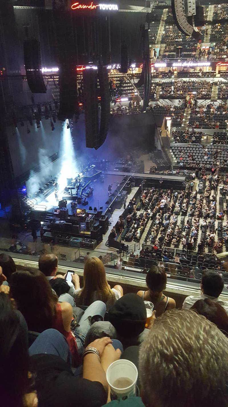 AT&T Center, section: 209, row: 4, seat: 13