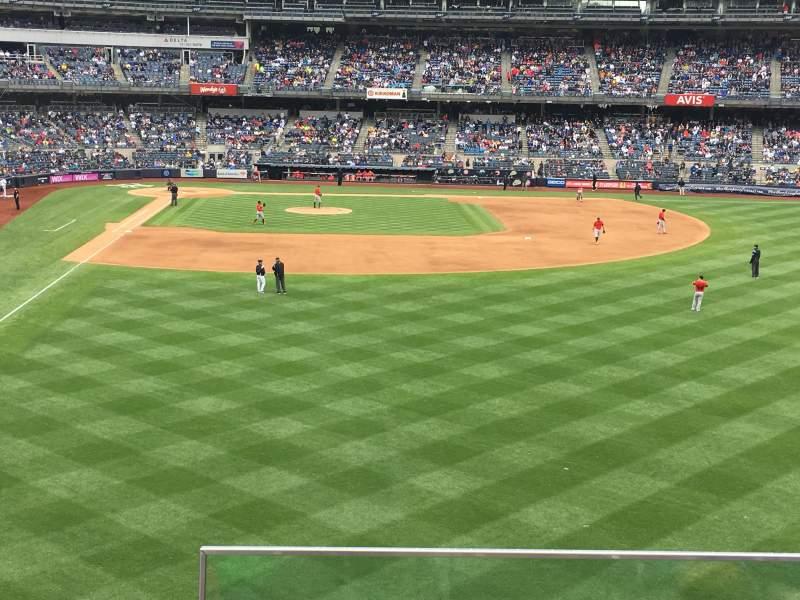 Yankee Stadium, section: 206, row: 3, seat: 1