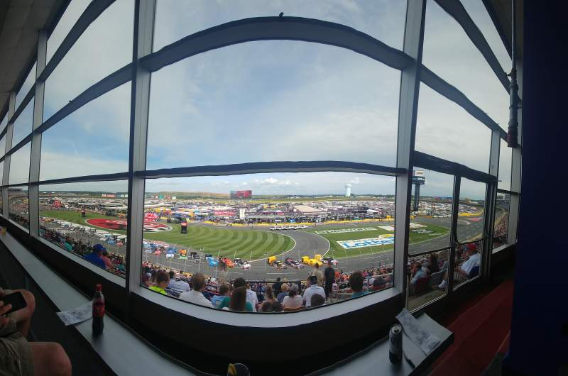 Charlotte Motor Speedway, section: Clubhouse, Section B, row: 41, seat: 3