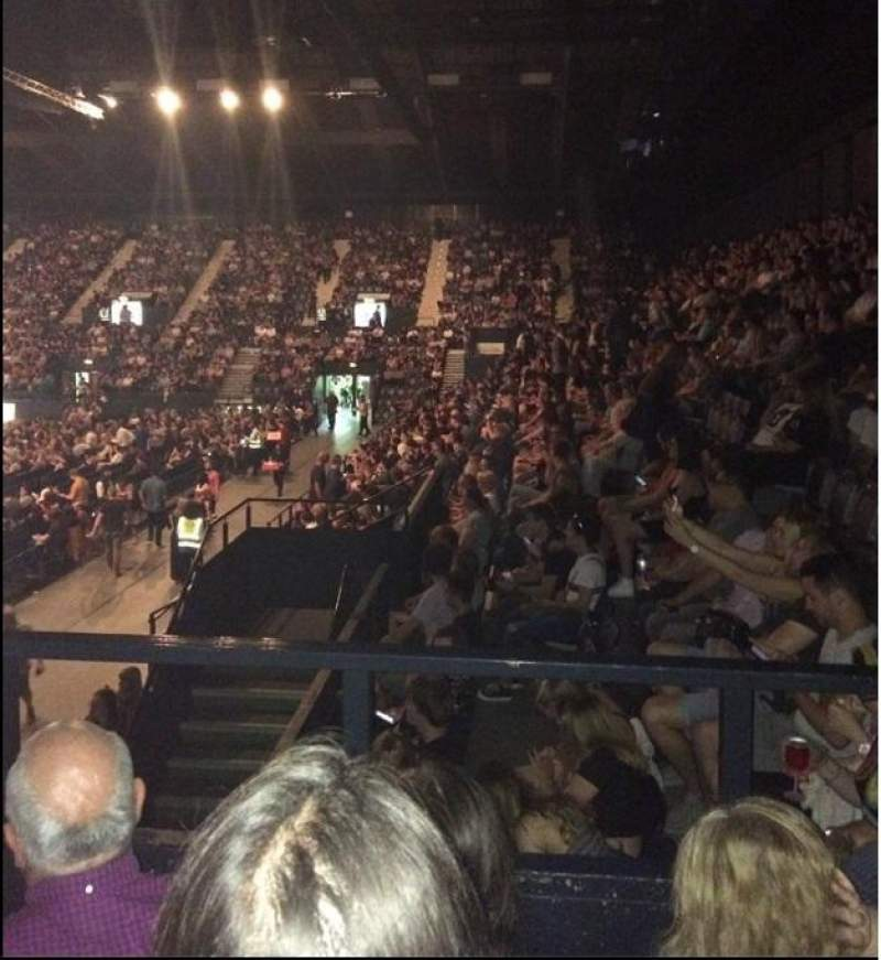 SSE Arena, Wembley, section: S15, row: l, seat: 188