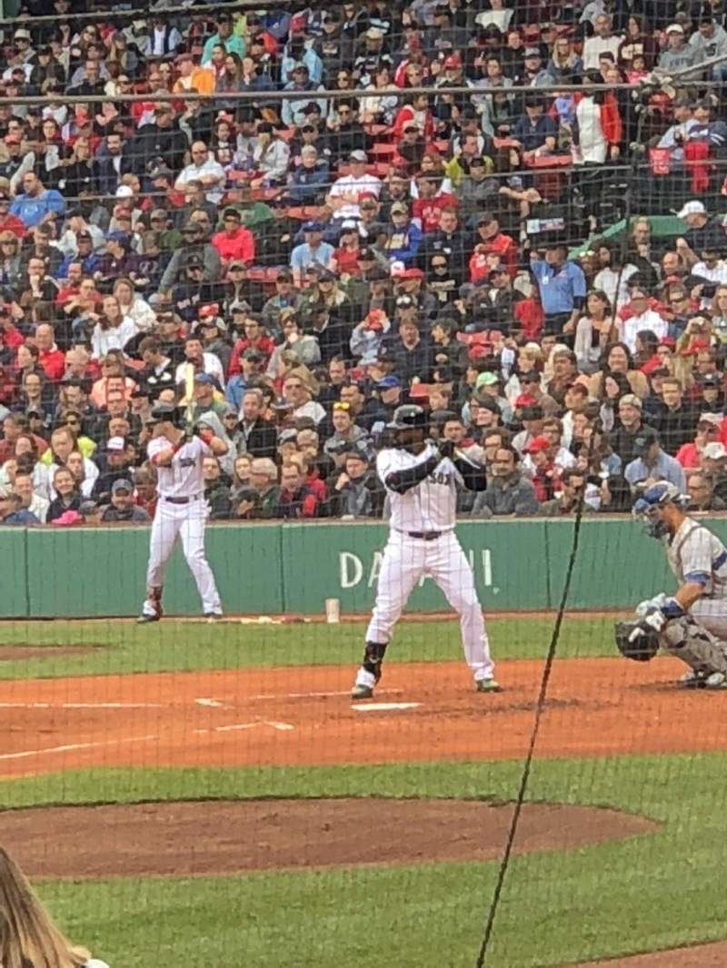 Fenway Park, section: Loge Box 153, row: AA, seat: 6