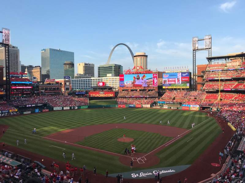 Seating view for Busch Stadium Section 251 Row 5 Seat 11