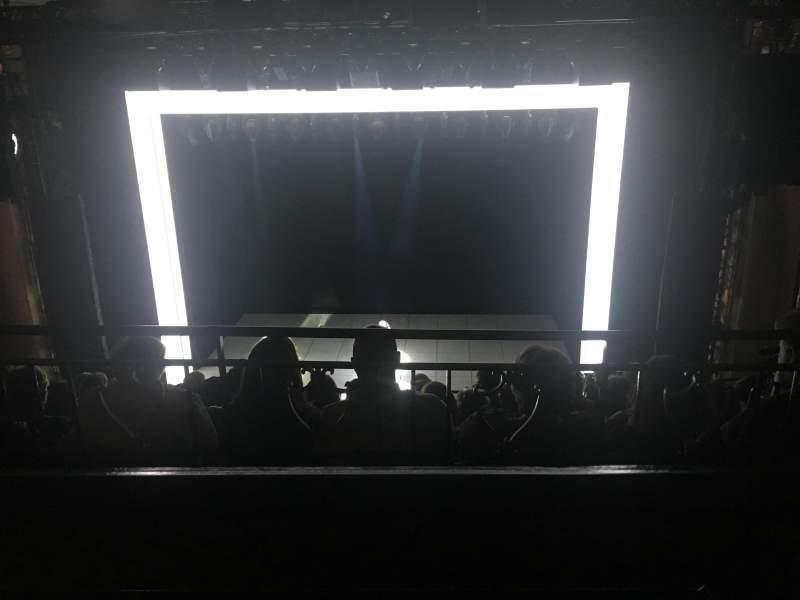 Lunt-Fontanne Theatre, section: Second Mezzanine, row: A, seat: 106