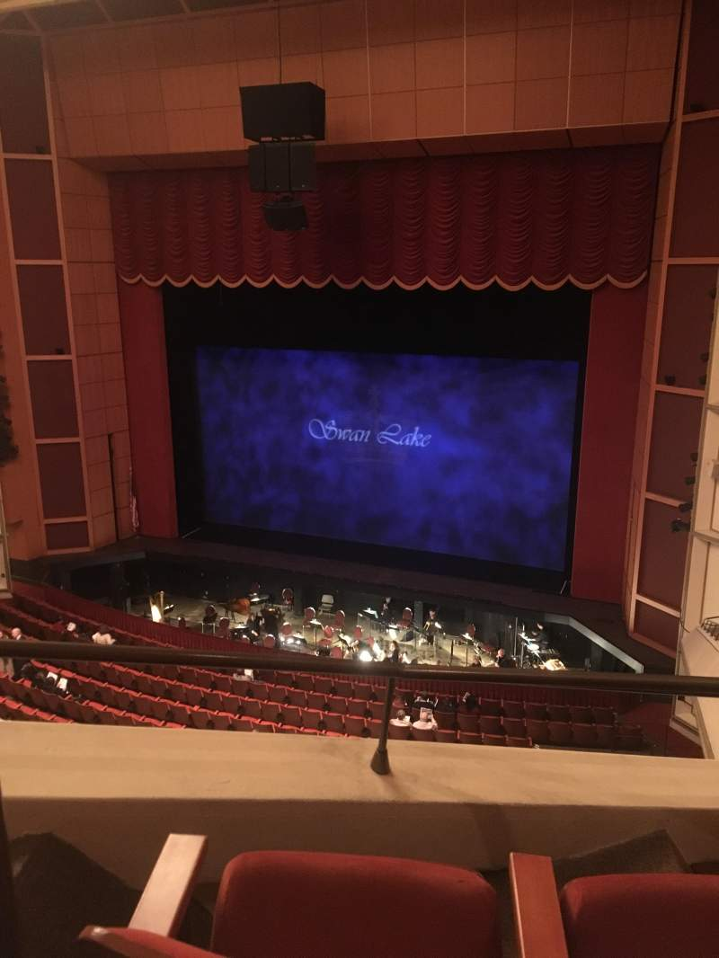 Seating view for Uihlein Hall Section C Loge Row A Seat 46