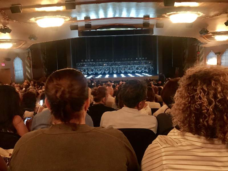 Lunt-Fontanne Theatre, section: Orchestra, row: WW, seat: 106