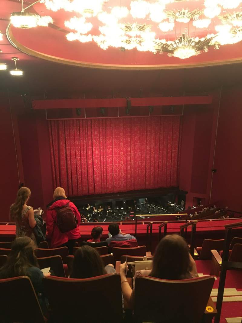 The Kennedy Center Opera House, section: TR2, row: F, seat: 103