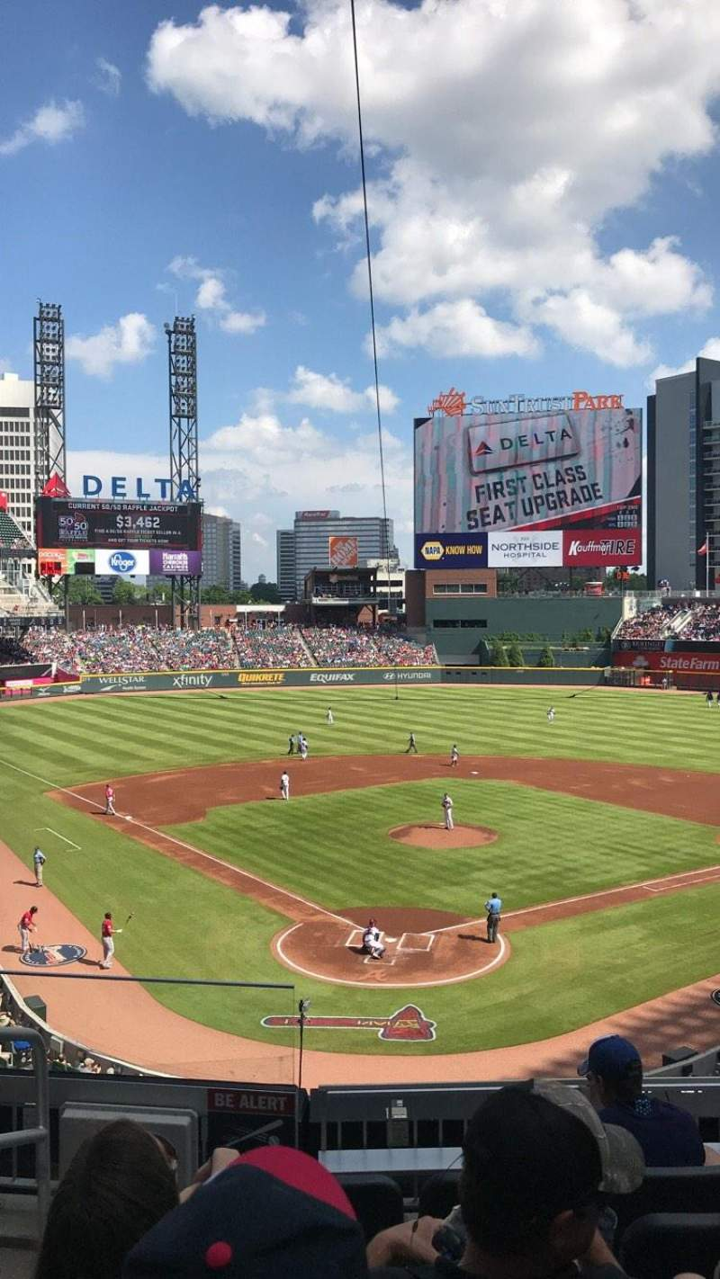 SunTrust Park, section: 225, row: 6, seat: 9