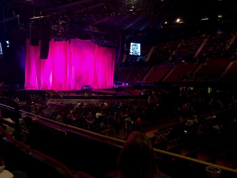 The Forum, section: 130, row: 2, seat: 1