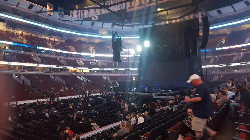 United Center, section: 102, row: 12, seat: 5