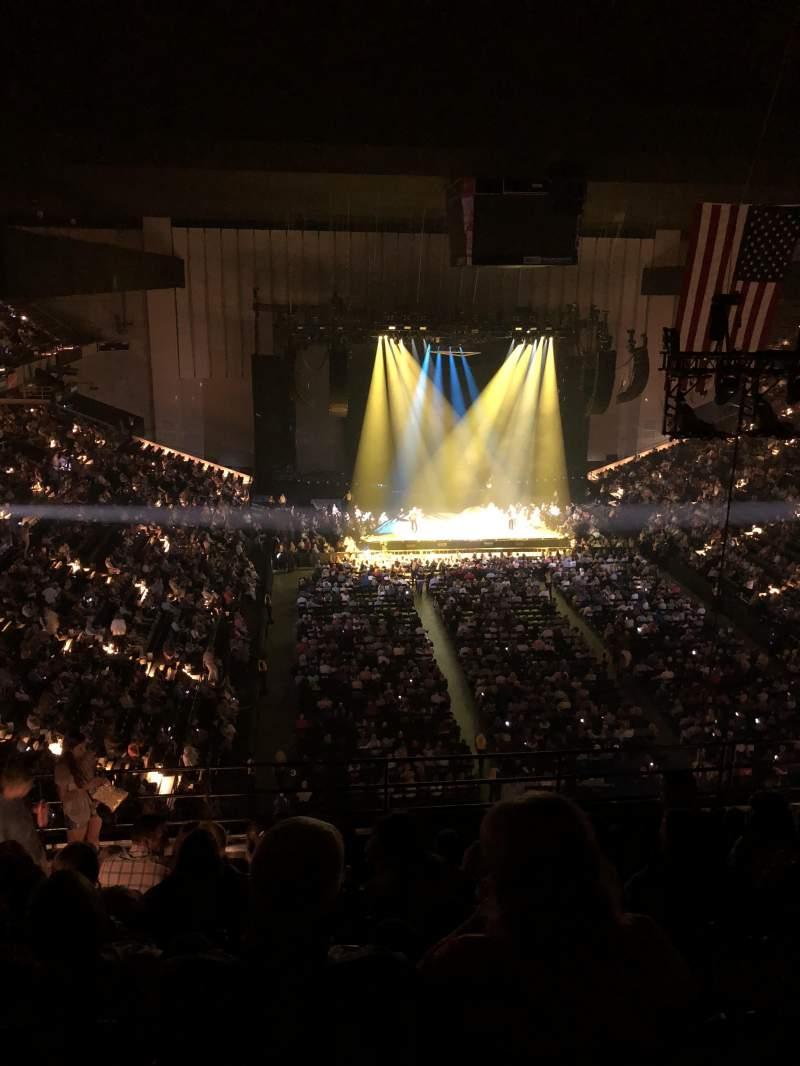 Royal Farms Arena, section: 327, row: K, seat: 14