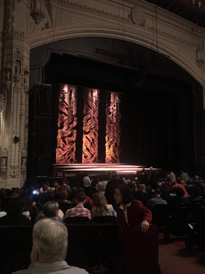 Seating view for Orpheum Theatre (San Francisco) Section Orchestra L Row U Seat 5