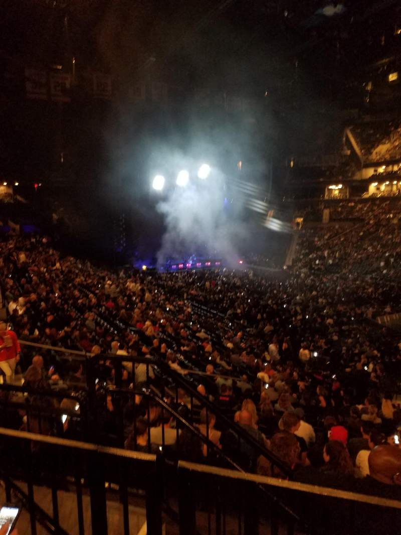 Barclays Center, section: 120, row: 5, seat: 11