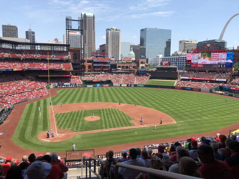 Seating view for Busch Stadium Section 247 Row 10 Seat 17