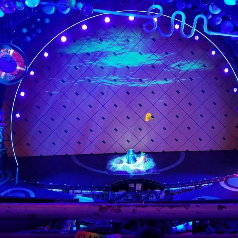 Palace Theatre (Broadway), section: Mezzanine, row: AA, seat: 105