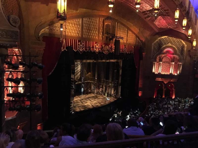 Seating view for Fox Theatre (Atlanta) Section Dress Circle Left C Row A Seat 53