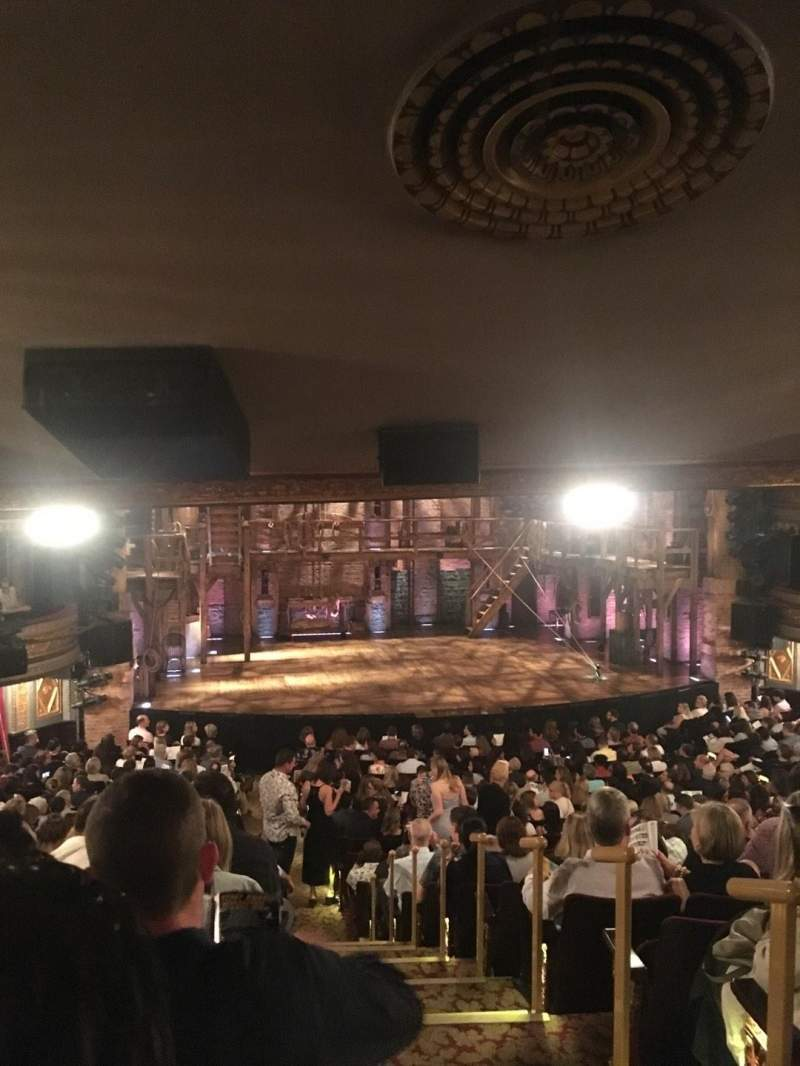 Seating view for Richard Rodgers Theatre Section Orchestra L Row V Seat 1