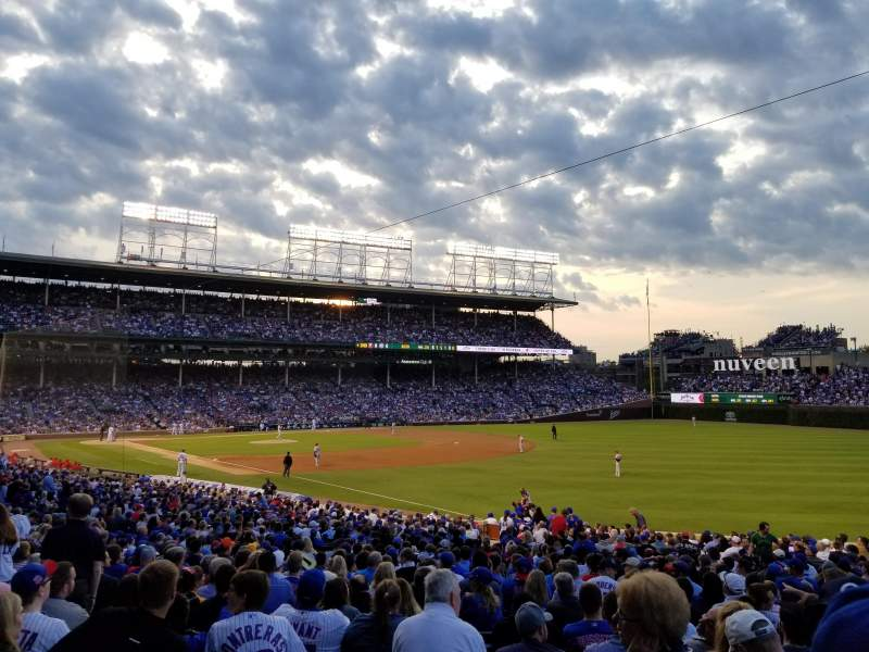 Seating view for Wrigley Field Section 239 Row 2 Seat 2