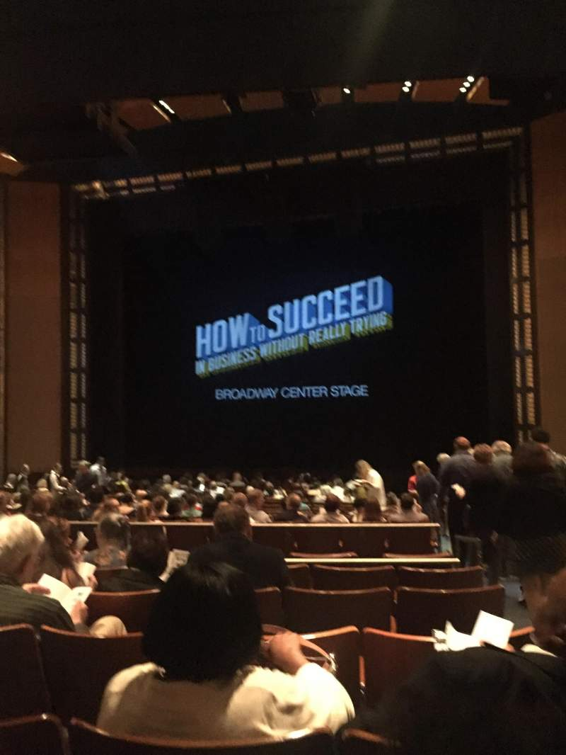 The Kennedy Center Eisenhower Theater, section: Orchestra, row: V, seat: 101