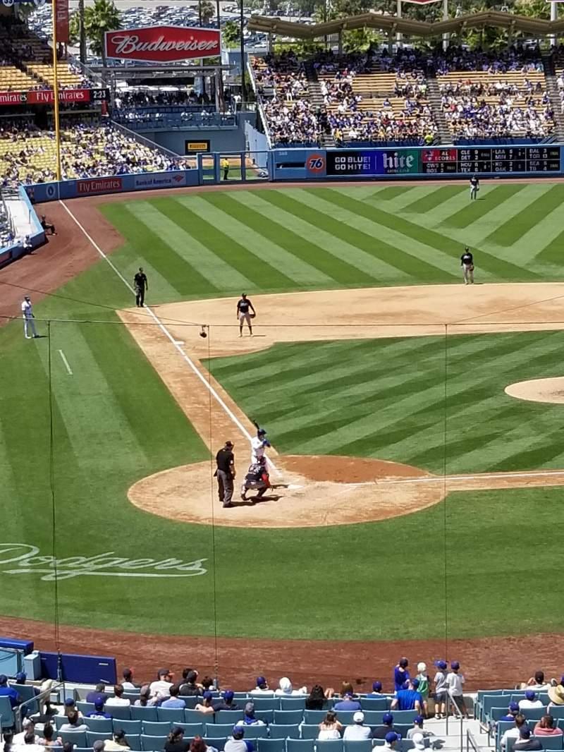 Dodger Stadium, section: 118LG, row: W, seat: 2