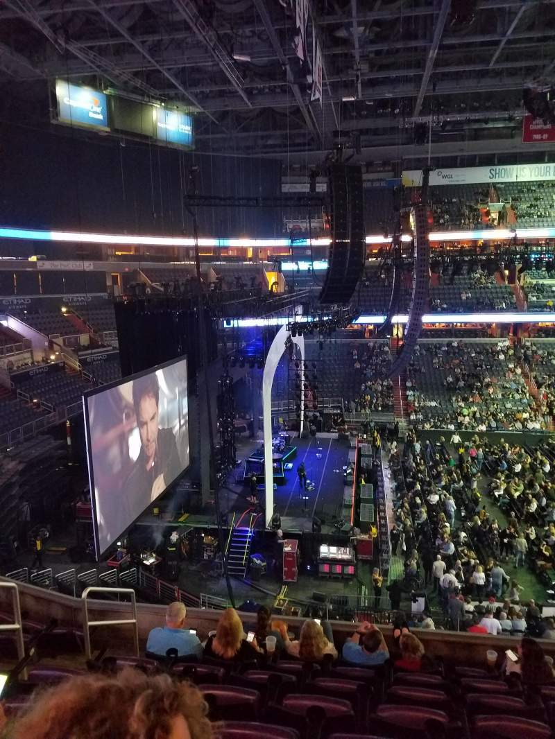 Capital One Arena, section: 228, row: H, seat: 5