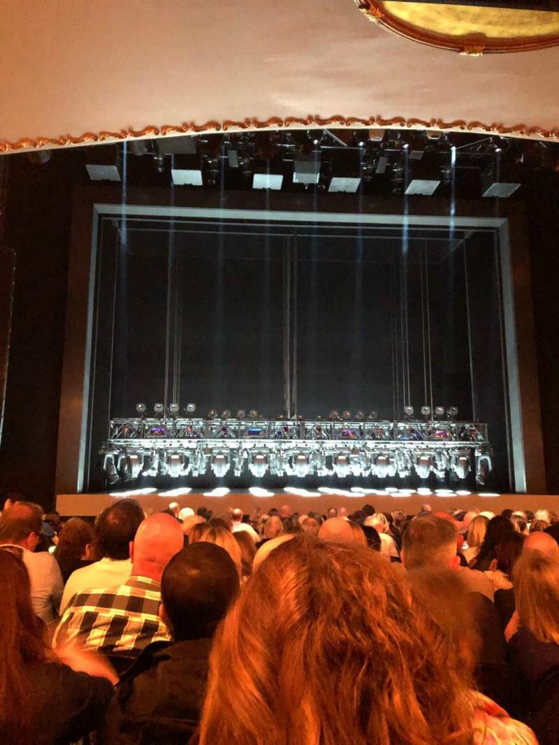 Seating view for Lunt-Fontanne Theatre Section Orchestra C Row Q Seat 104