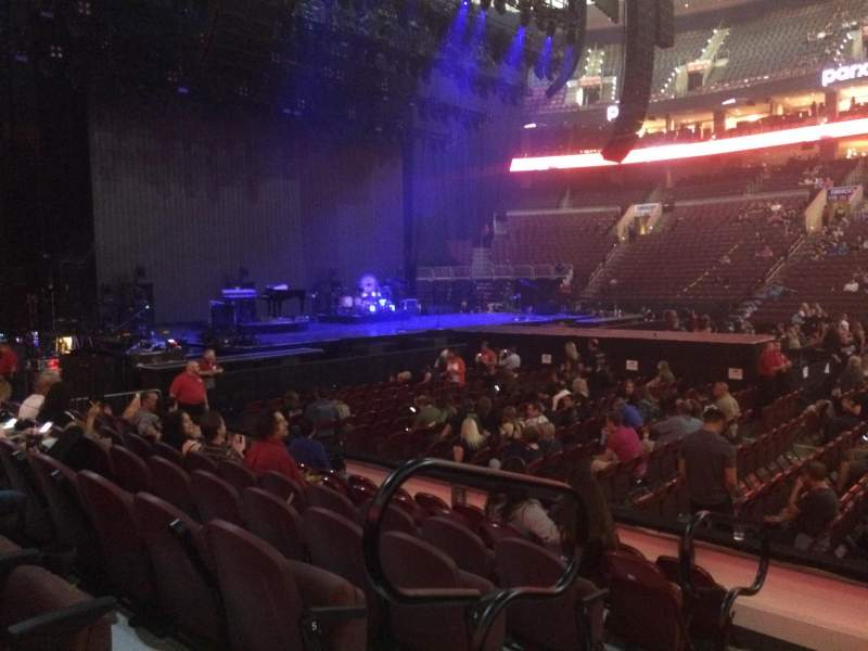 Wells Fargo Center, section: 101, row: 7, seat: 1