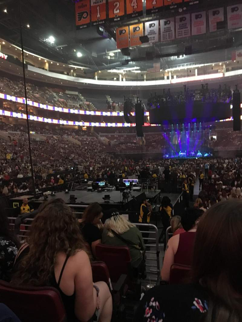 Wells Fargo Center, section: 108, row: 6, seat: 5