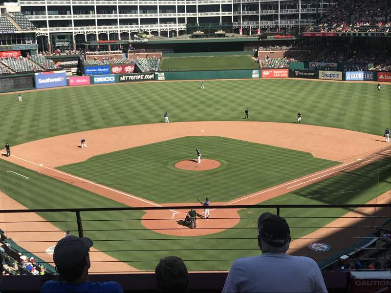 Globe Life Park in Arlington, section: 226, row: 4, seat: 12