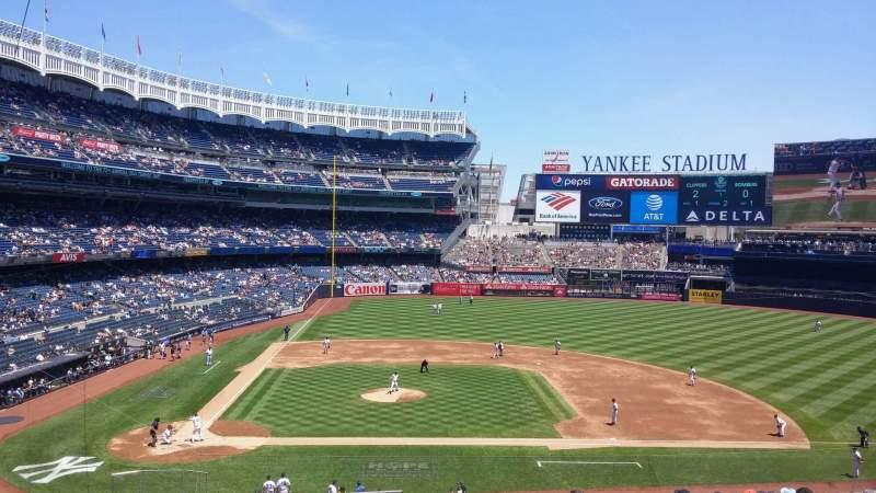 Yankee Stadium, section: 217, row: 14, seat: 1