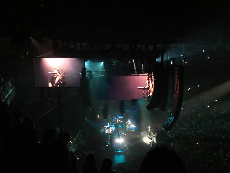 Infinite Energy Arena, section: 315, row: E, seat: 5