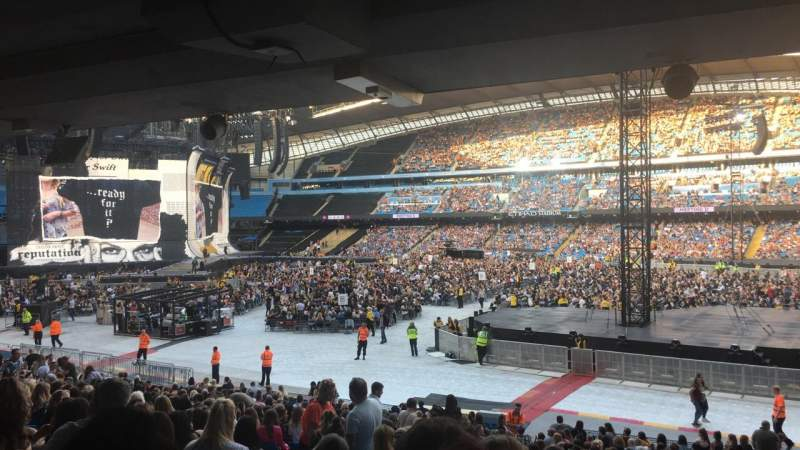 Seating view for Etihad Stadium (Manchester) Section 122 Row CC