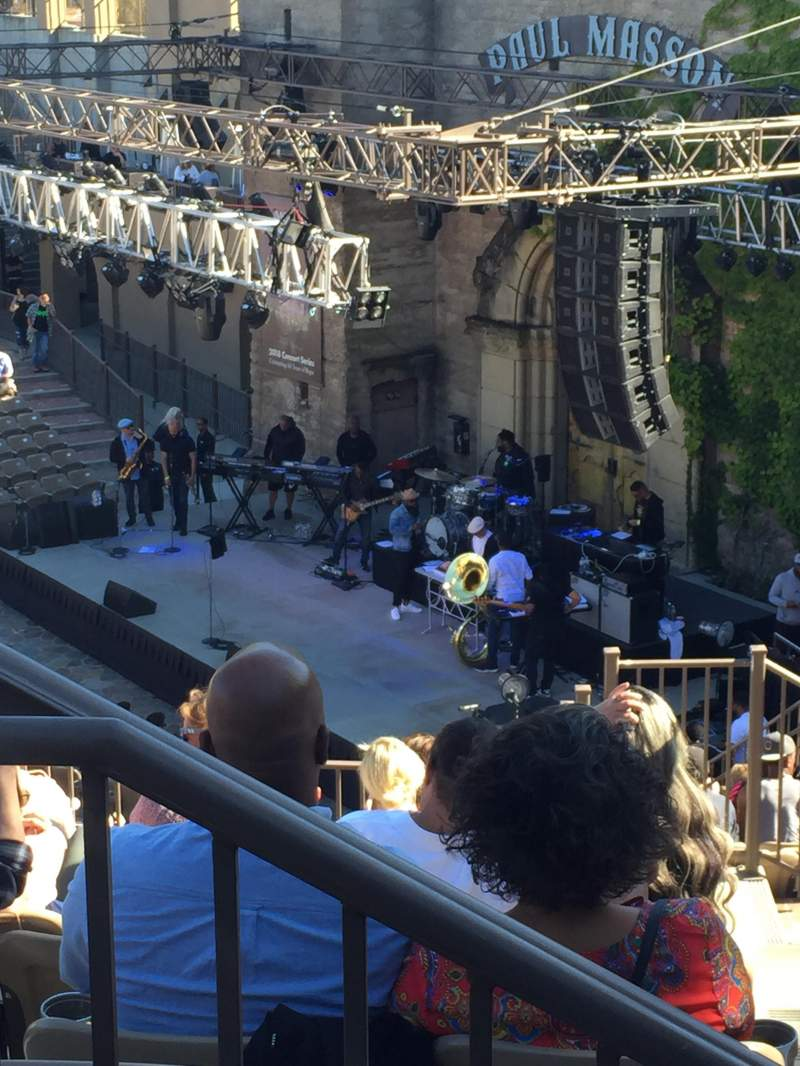 Seating view for Mountain Winery Section 22 Row J Seat 2