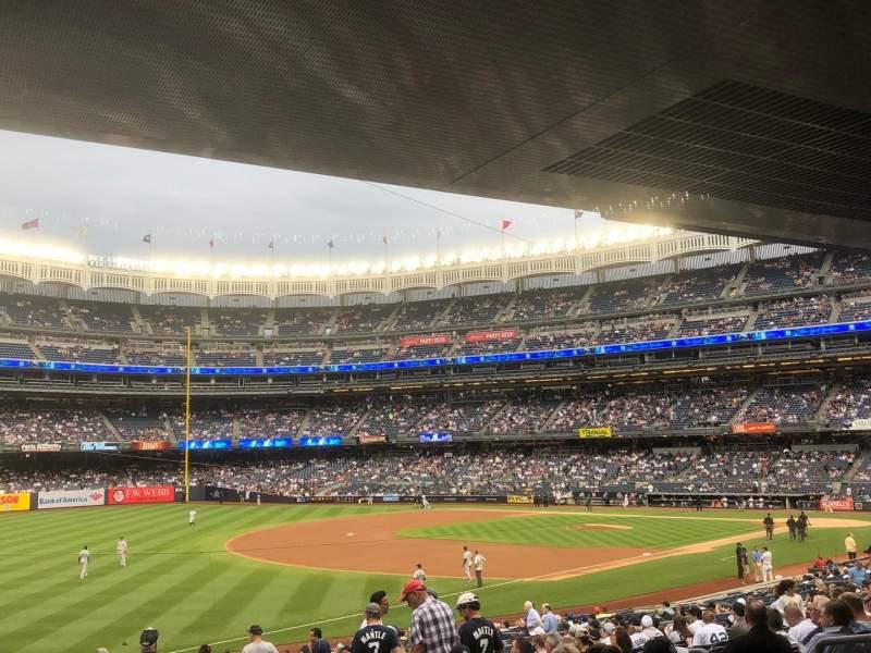 Yankee Stadium, section: 129, row: 29, seat: 9