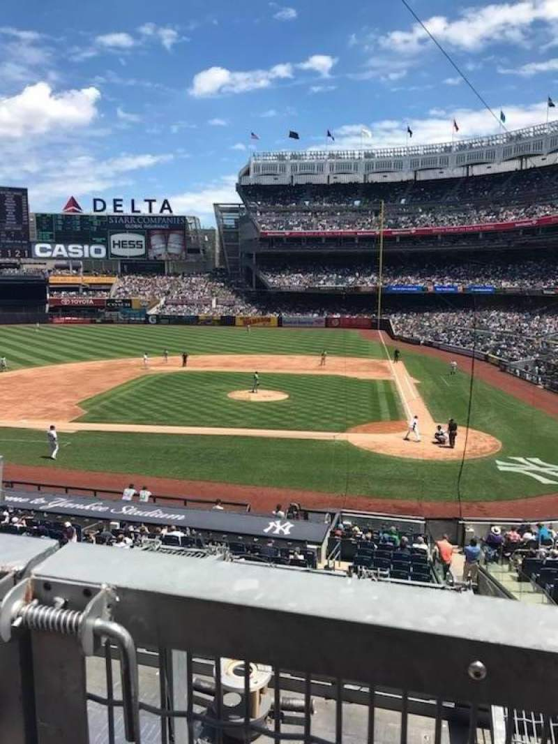 Seating view for Yankee Stadium Section 223 Row 1 Seat 1