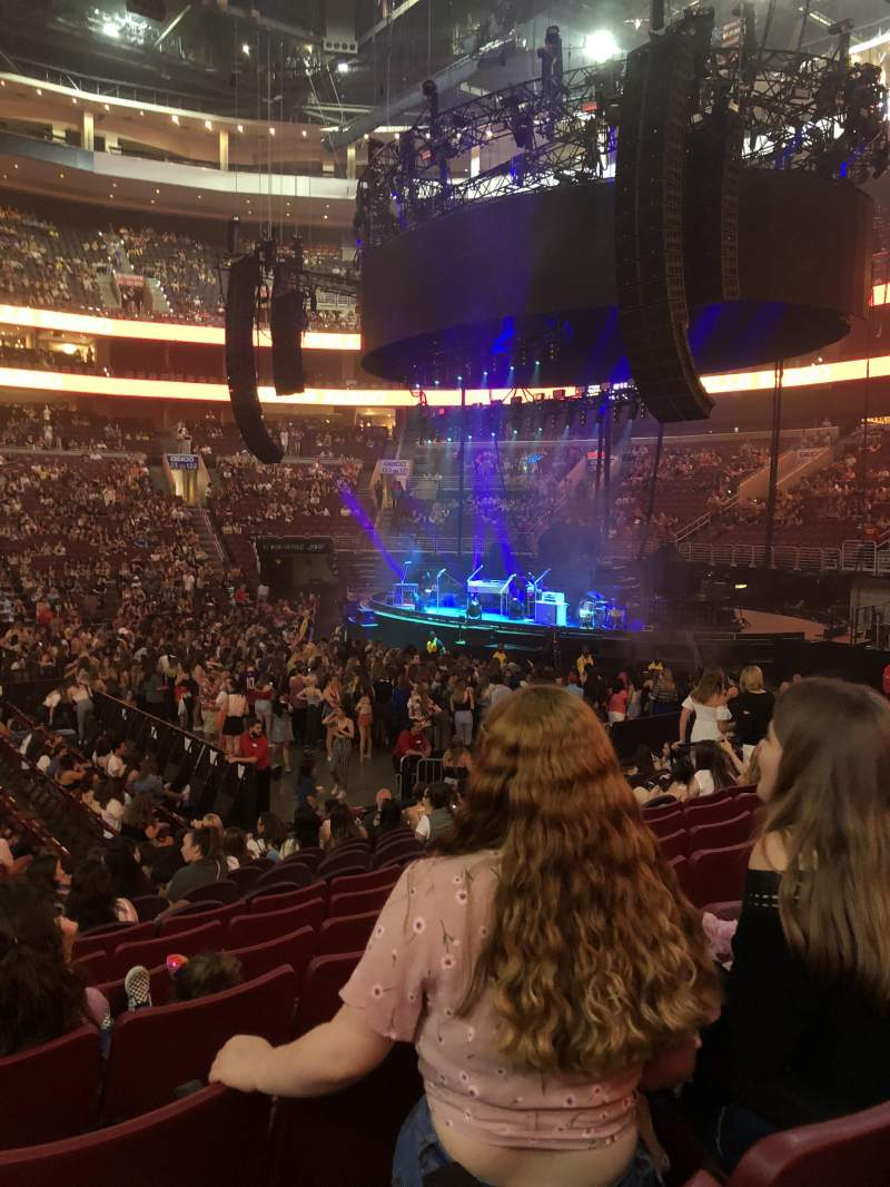 Wells Fargo Center, section: 114, row: 13, seat: 5