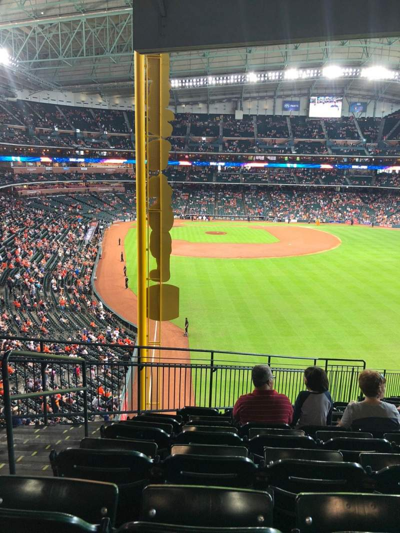 Seating view for Minute Maid Park Section 251 Row 16 Seat 2