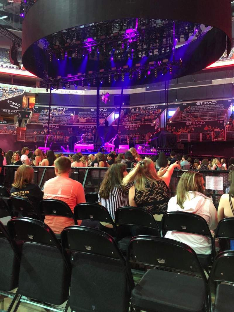 Capital One Arena, section: 3, row: 5, seat: 10